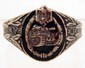 GERMAN NAZI ENAMELED ARMY TANK ASSAULT RING
