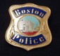 BOSTON POLICE BLACKINTON CAP BADGE