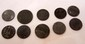 LOT OF 10 GERMAN NAZI COINS