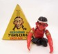 VINTAGE GERONIMO THE TUMBLING INDIAN WIND UP TOY IN ORIGINAL BOX