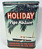 VINTAGE HOLIDAY POCKET TOBACCO ADVERTISING TIN