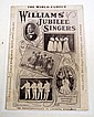 C. 1900 BLACK AMERICANA WORLD FAMOUS WILLIAMS' JUBILEE SINGERS SHEET MUSIC