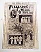C. 1900 BLACK AMERICANA WORLD FAMOUS WILLIAMS' JUBILEE SINGERS SHEET MUSIC