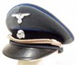 GERMAN NAZI WAFFEN SS MEDICAL OFFICERS VISOR