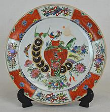 19th c. Chinese Ceramic Plate