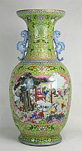 19th c.Rare Chinese Famille Rose Vase w/Hundred Boy