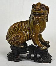 19th c. Chinese Porcelain Foo Dog