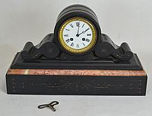 Granite and Marble Mantle Clock