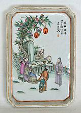 19th c. Chinese Ceramic Tray