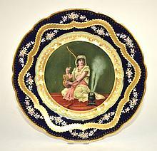 Portrait Plate of A Woman