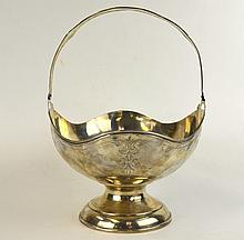 American Sterling Silver Basket
