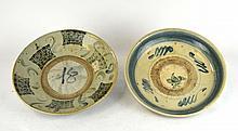 Two 18th Century Italian Blue/ White Plates