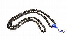 Chinese Chengxian Wood Beads Necklace