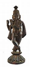 Indian Wood Carving Figure