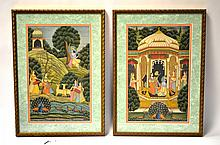 Two Framed India Paintings