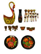28 Assorted Russian Lacquer Pieces