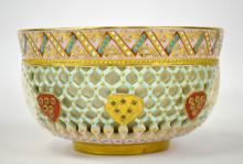 Royal Worcester Reticulated Double Wall Bowl