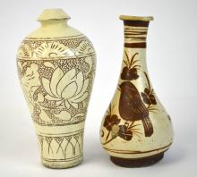 Two Chinese Pottery Vases