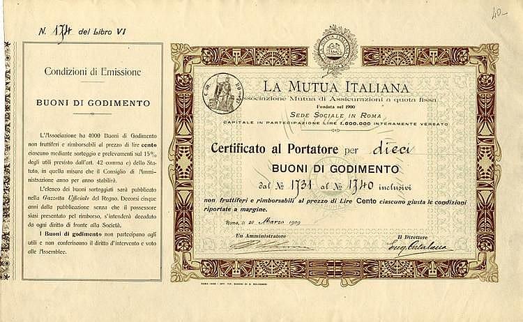 La Mutua Italiana - Associazione Mutua di Assicurazioni a quota fissa
