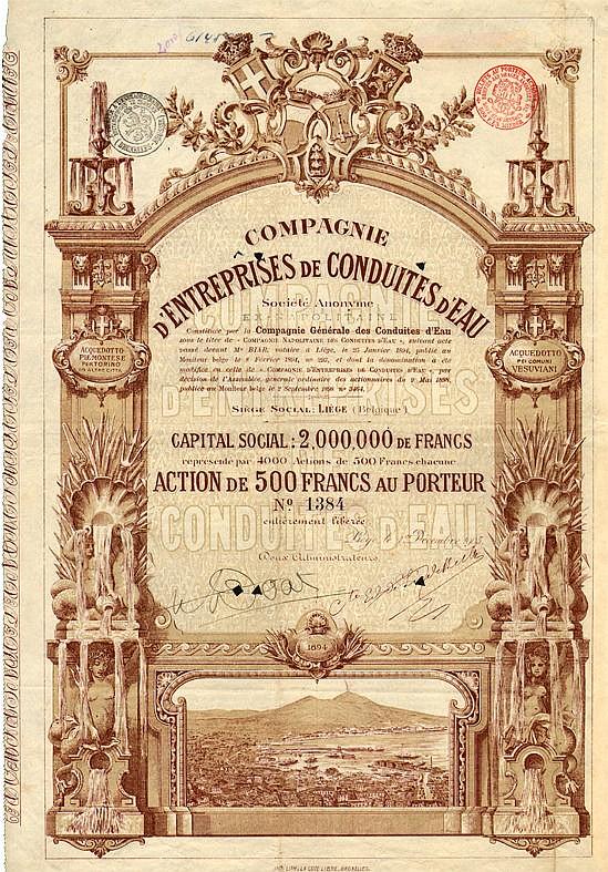 Compagnie d'Entreprises de Conduites d'Eau