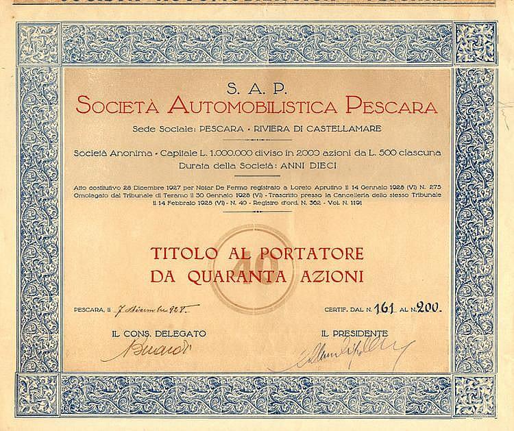 Società Automobilistica Pescara - S.A.P.