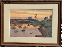 Harbor at Perkin's Cove, Ogunquit, Me