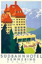 Südbahn Hotel. 1930