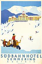 Südbahn Hotel. ca. 1931