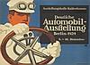 Automobil–Ausstellung Berlin. 1924, Lucian Bernhard, $1,400