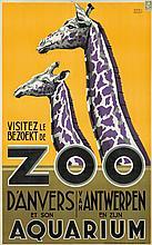 Zoo d'Anvers. 1935