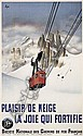 Plaisir de Neige. 1938., Gerard Alexandre, Click for value
