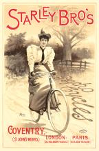 Starley Bro's / Psycho Cycles. ca. 1896