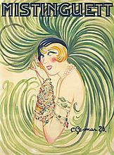 Mistinguett. 1925