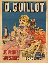 D. Guillot Liqueurs. 1895