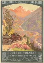Route des Pyrénées.  ca. 1920