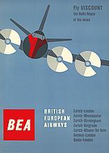 British European Airways. 1956