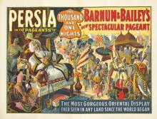 Barnum & Bailey / Persia. 1916