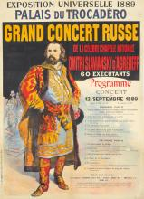 Grand Concert Russe. 1889