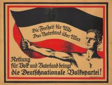Die Deutschnationale Volkspartei.  ca. 1918