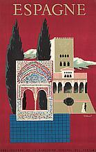 Espagne. 1957