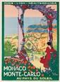 Monaco Monte-Carlo. ca. 1920