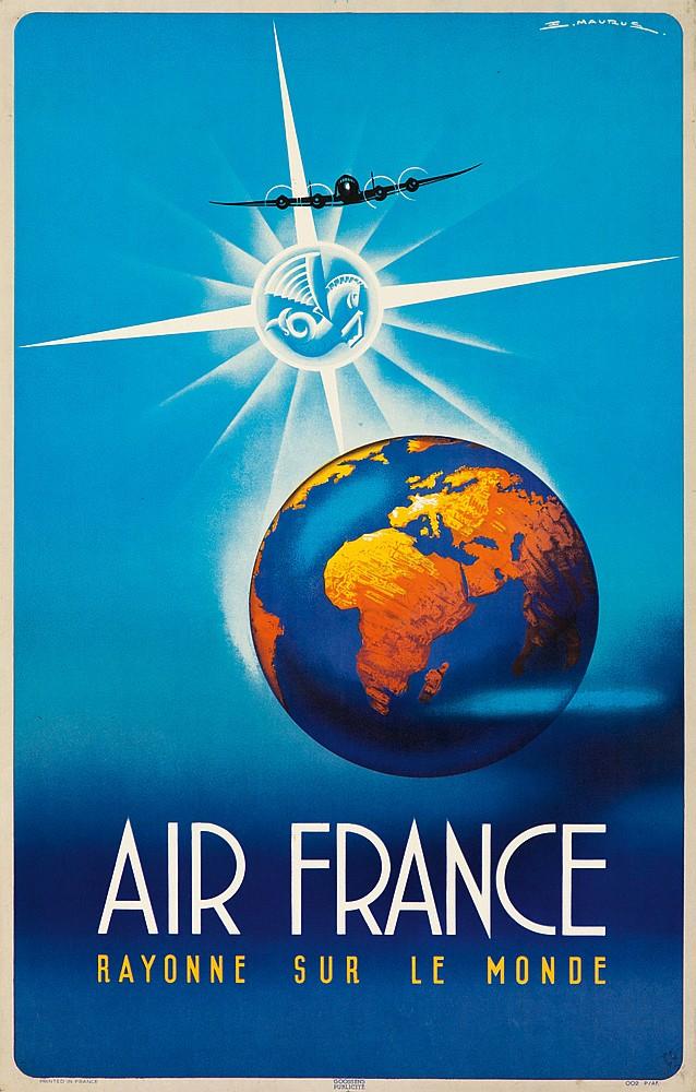 Air France. 1946