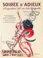 Soirée d'Adieux / Grand Palais.  1925