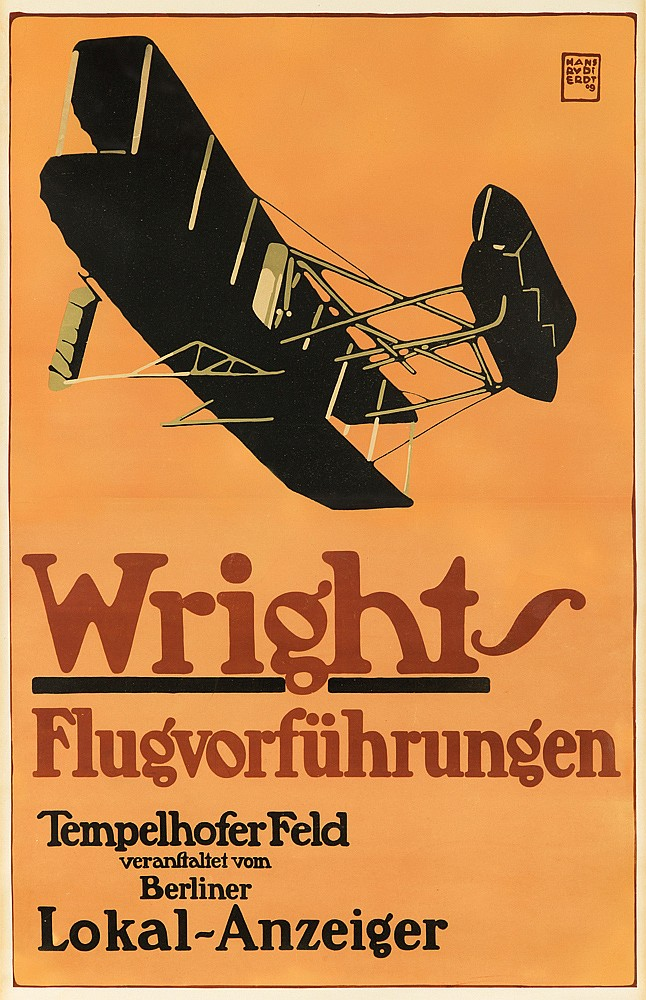 Wright-Flugvorführungen. 1909