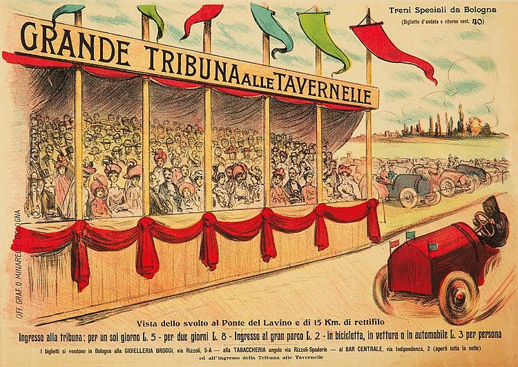 Grande Tribuna alle Tavernelle. ca. 1910