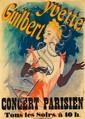 Yvette Guilbert / Au Concert Parisien.  1891