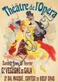 Théâtre de l'Opéra / Gd Veglione de Gala / 3e Bal Masqué.  1897