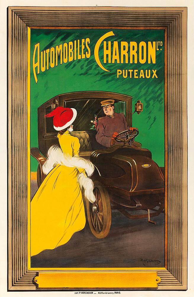 Automobiles Charron Ltd. / Puteaux. ca. 1906
