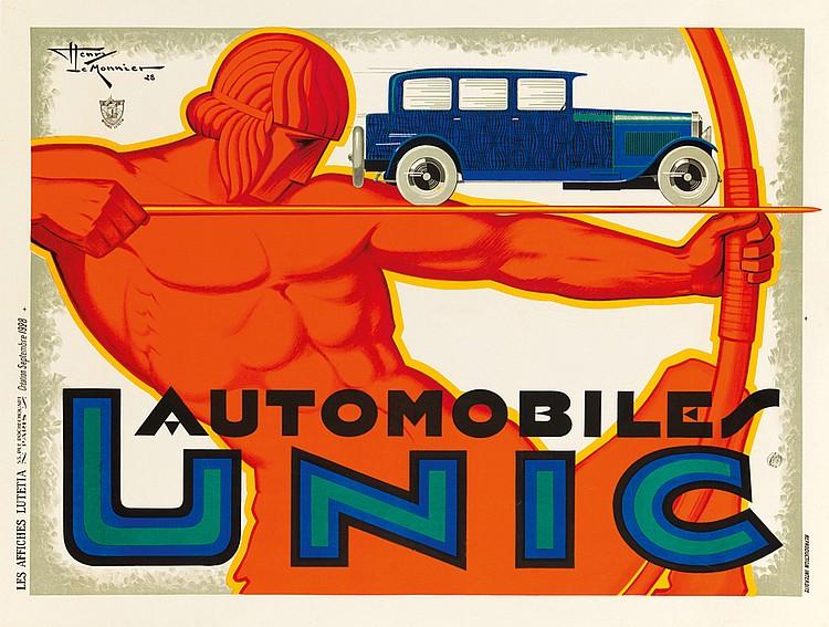 Automobiles Unic. 1928
