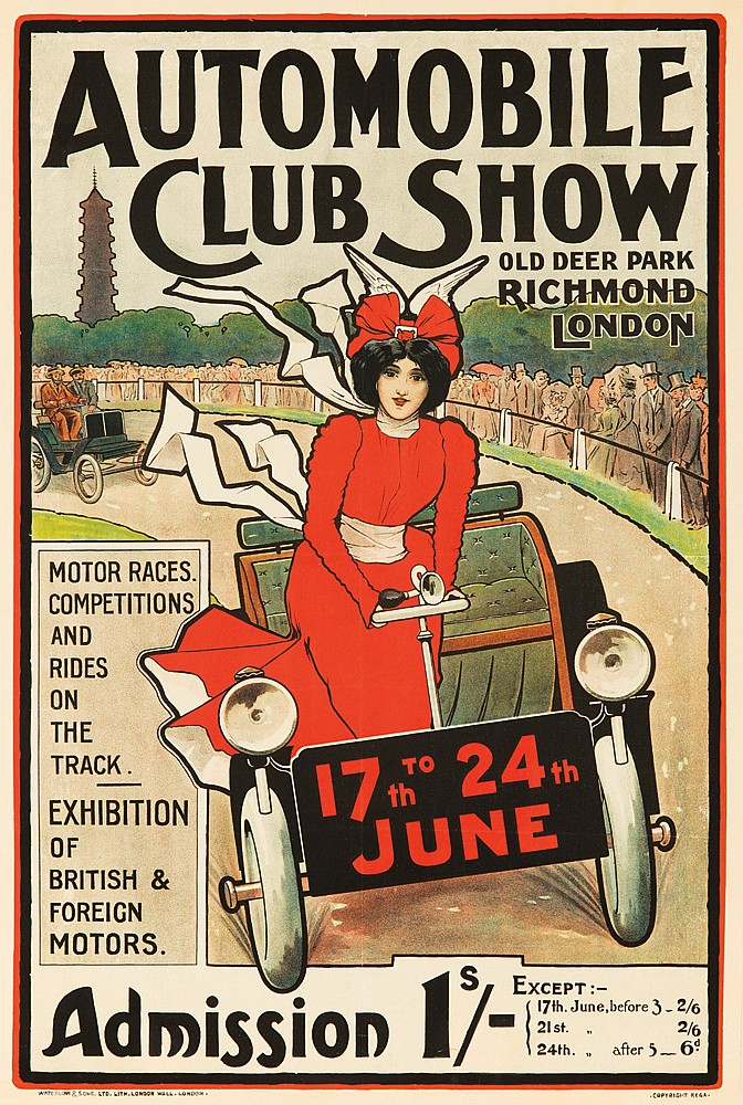 Automobile Club Show.  ca. 1900